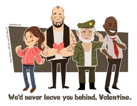 L4D Survivors Valentine